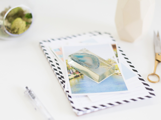desk-supplies-with-resin-agate-paperweight1