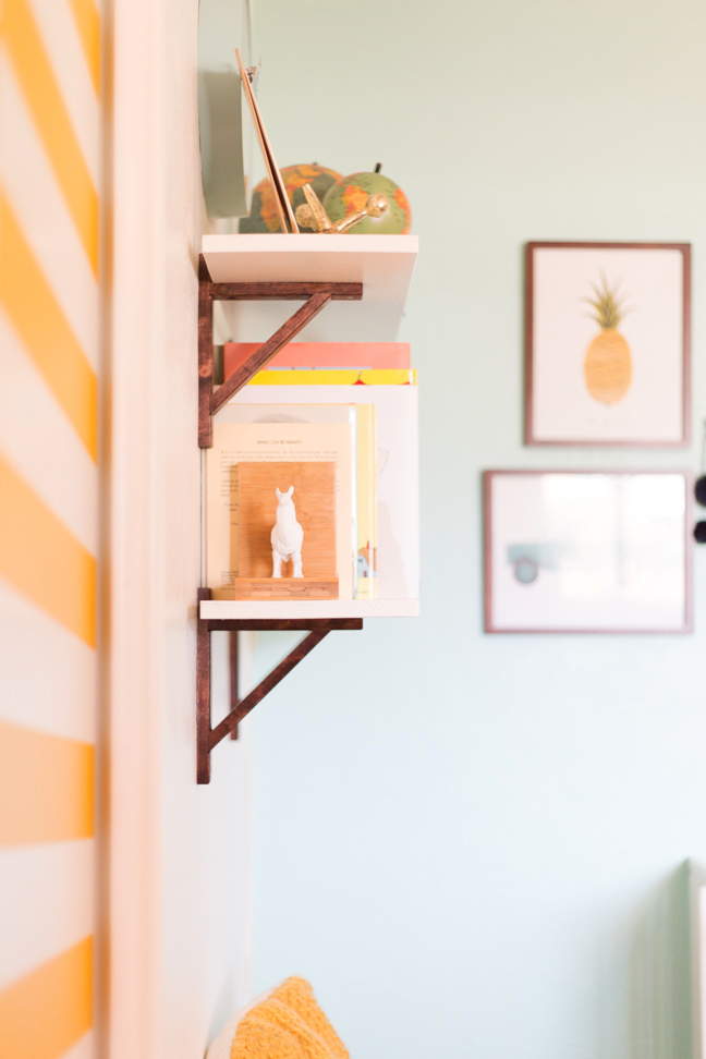 Easy Diy Baby Nursery Shelves