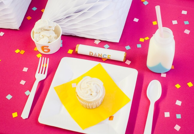 Kids birthday party place setting   Shauna Younge for Momtastic (image: Sydnee Bickett)
