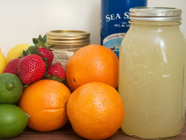 mason-jar-oranges-limes-strawberries