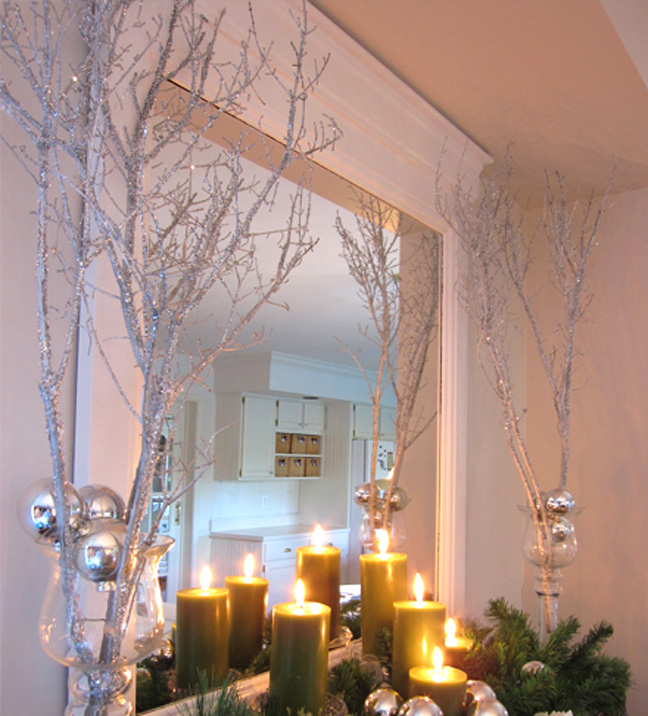 Sparkly Holiday Branches Decor