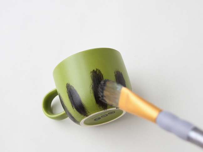 Step 5 // Watercolor Winter Mugs Project