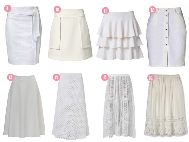 16 Skirts With Perfect Hems for Summer