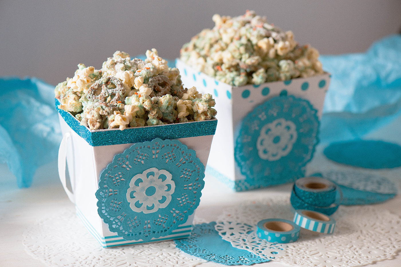 Ice Princess Popcorn Munch Recipe