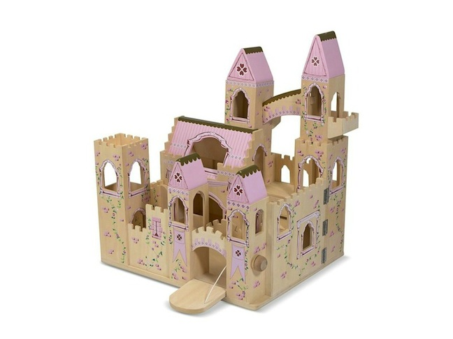 Melissa & Doug's Folding Princess Castle