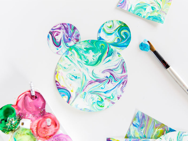 How To Make Shaving Cream Art For Toddlers