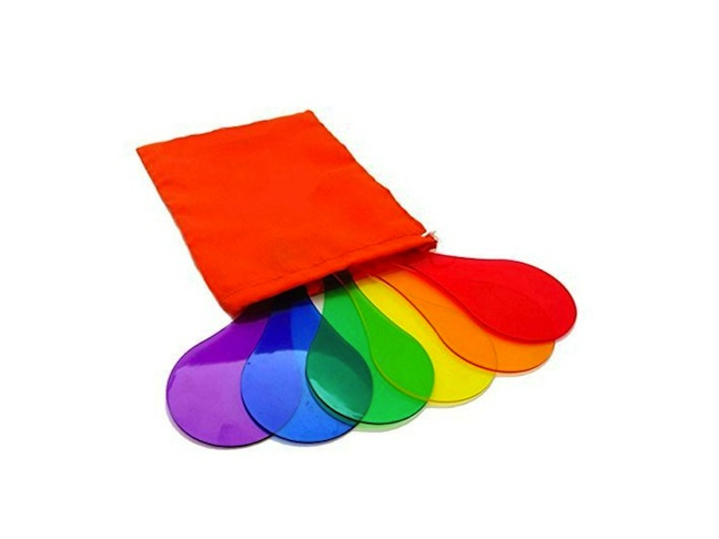 Color Mixing Paddles