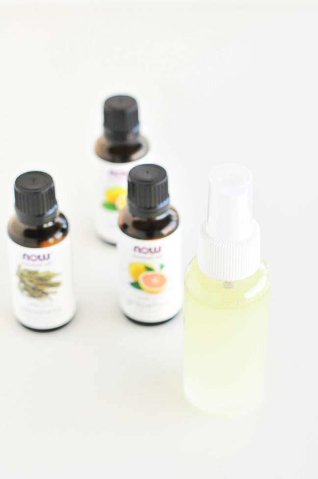 Natural Citrus DIY Bug Spray