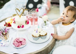 A Bohemian Glam First Birthday Party