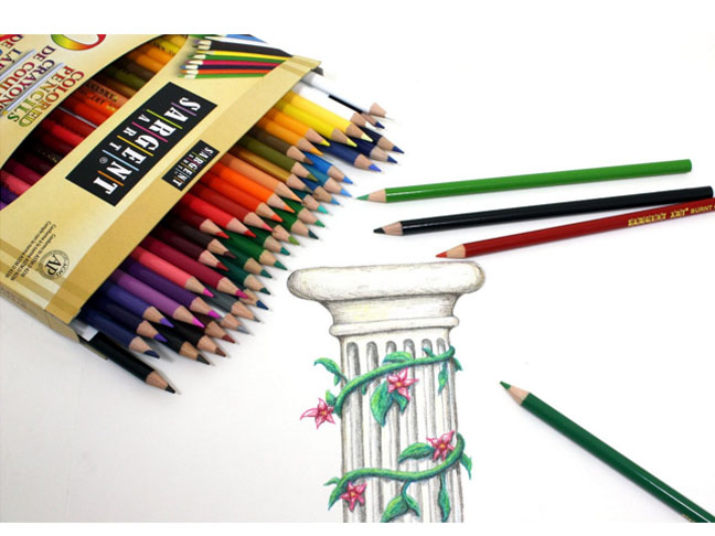 Sargent Colored Pencils Pack of 50