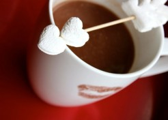 DIY Marshmallow Cupid's Arrow for Your Next Cup of Hot Cocoa