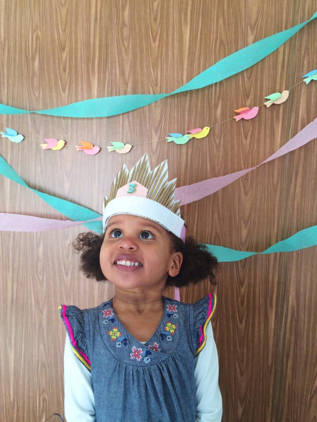 DIY Starburst Birthday Crown | Shauna Younge | Momtastic