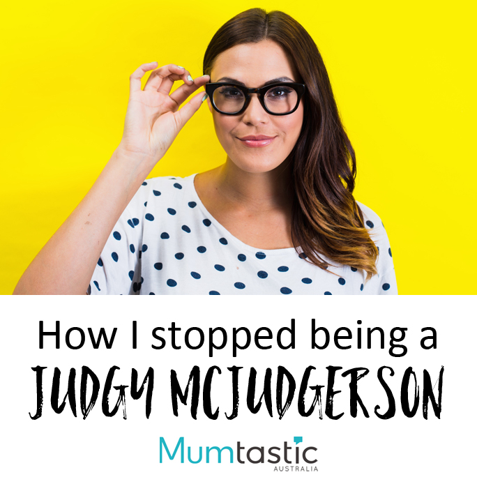 How I stopped being a judgy mcjudgerson