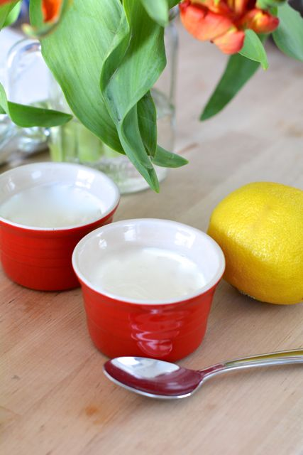 Lemon Pot de Creme