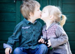 How I'm Talking to My Daughter About Kissing (Earlier Than I Thought I'd Have to)