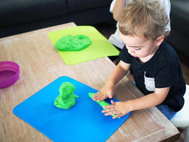 Playdough fun