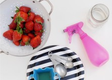 The Best Way to Clean Produce: DIY Natural Fruit & Veggie Wash
