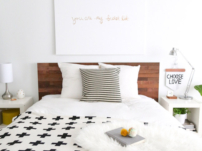 33 Genius DIY Headboards Youll Want In Your House Now