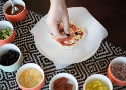 Cook With Your Kids: How to Make DIY Mini Pizzas