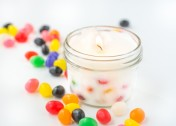 Easy DIY Jelly Bean Candle