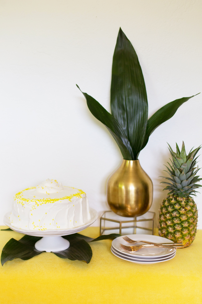 pineapple ice cream cake