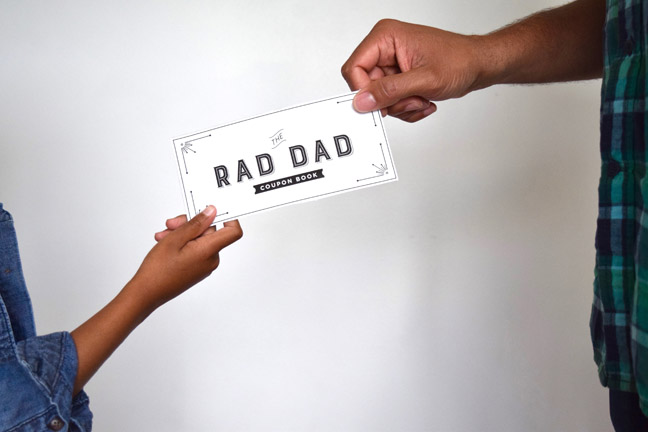 rad dad coupon book
