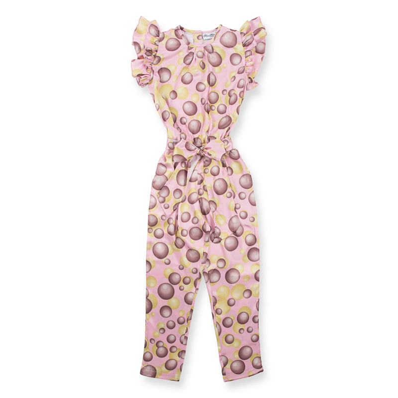 jumpsuit with balloons for little girls from how to kiss a frog