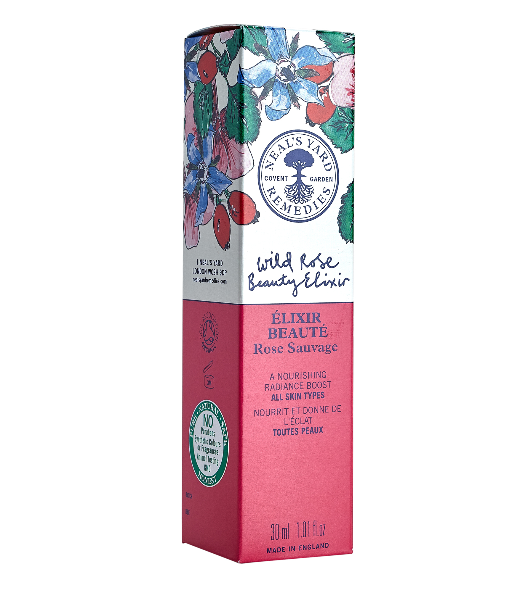neal's yard wild rose beauty elixir