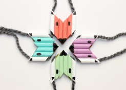 DIY Foxy Pasta Necklace Your Kids Will Actually Wear