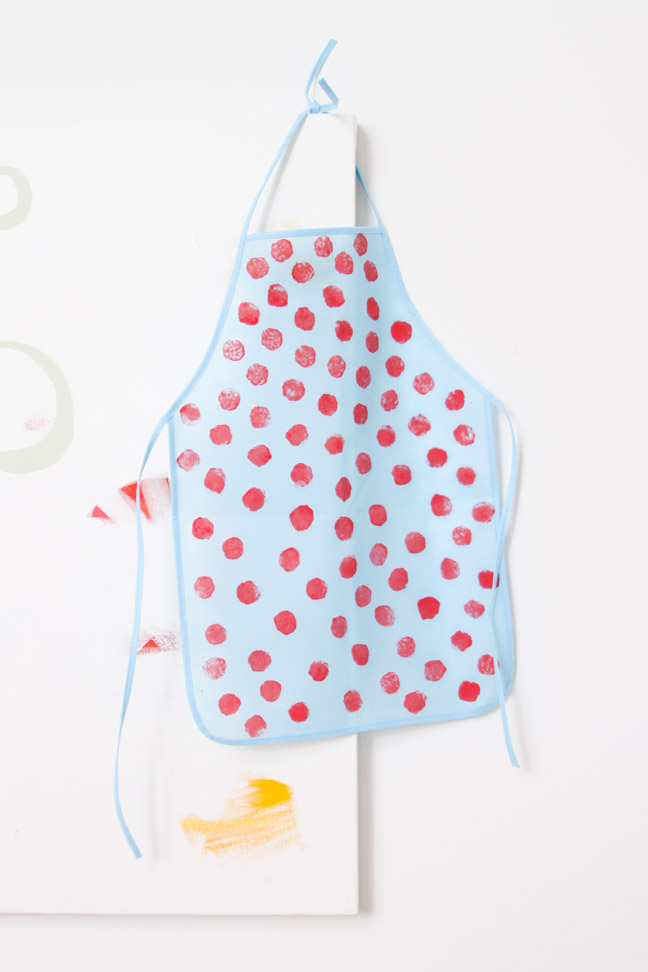 How To Make A Diy Artist Apron For Kids