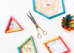 Reuse Popsicle Sticks to Create 3D Picture Frames in Minutes