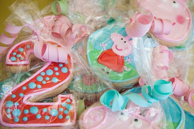 Peppa Pig Birthday Cookies Opt