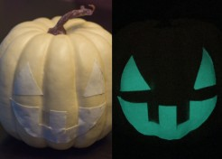 How to Make Glow in the Dark Jack-O'-Lanterns