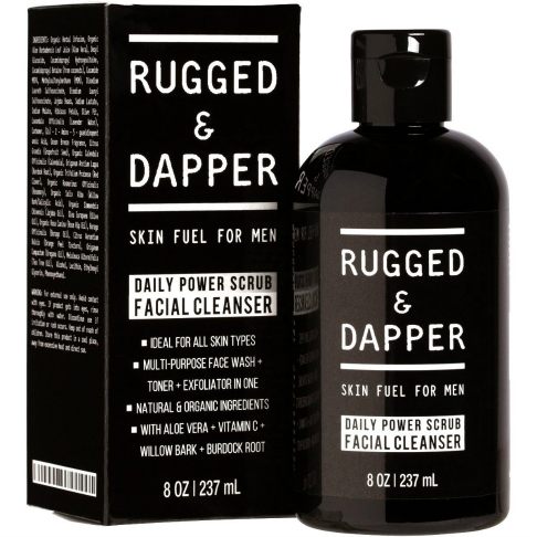 Rugged & Dapper face wash