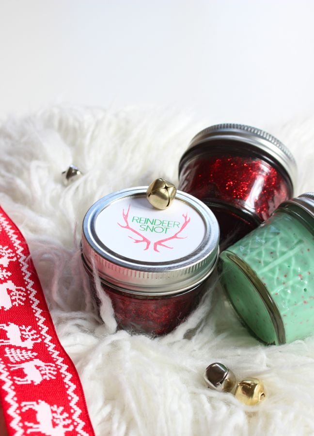 reindeer-snot-slime-stocking-stuffer-mason-jar-gift-holiday-fun