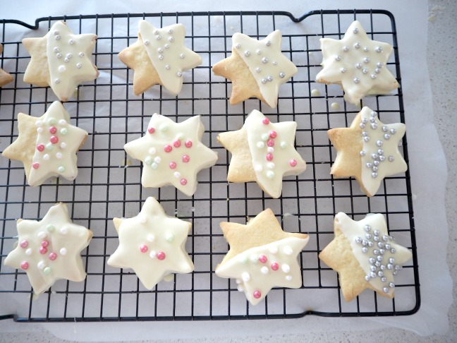 Shortbread Stars for Christmas