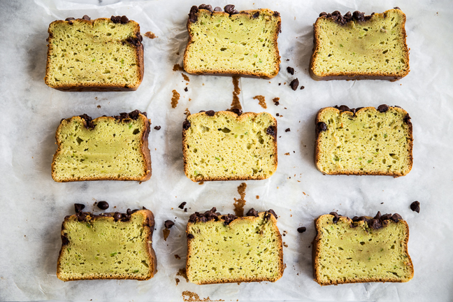 Avocado And Chocolate Chip Pound Cake
