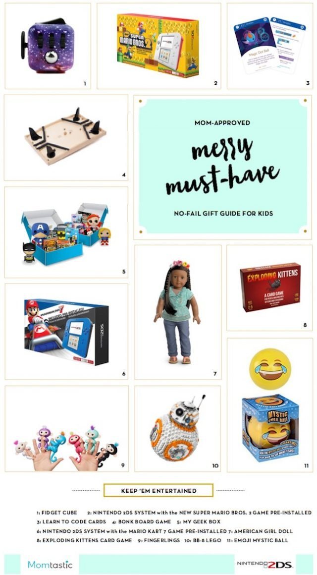No-Fail Gift Guide: 11 Toys Your Kids Won't Be Sick Of In A Week