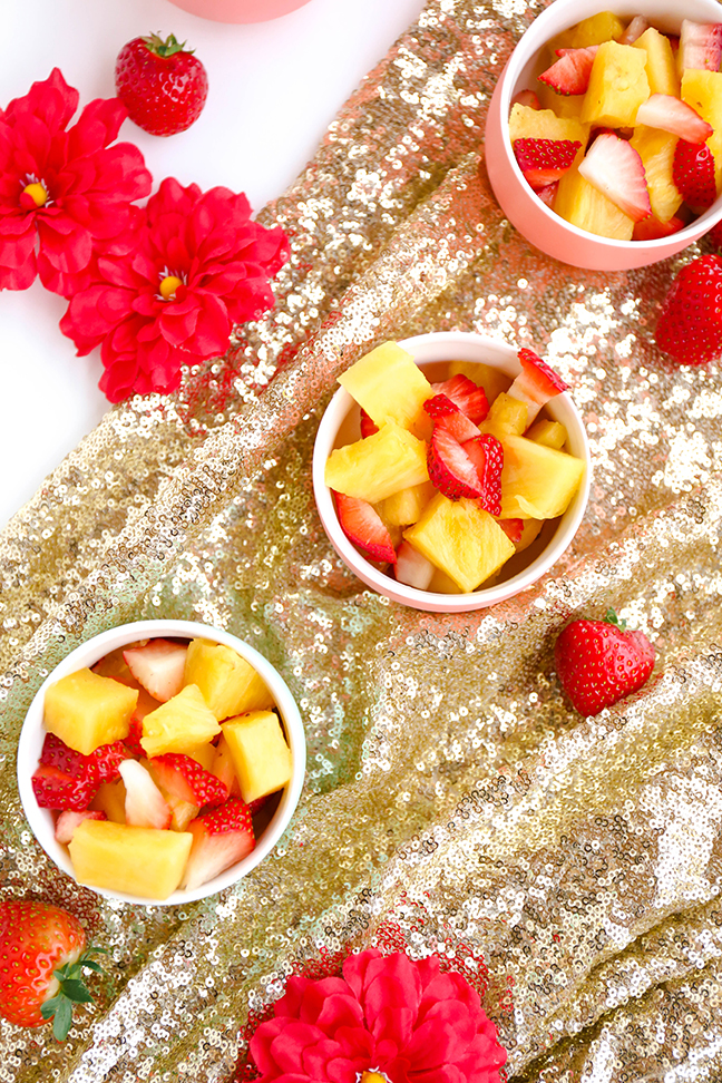 Fruit cups inspired by Elena of Avalor