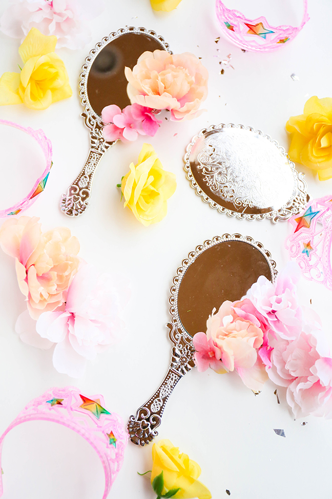 Princess Party Favors - Belle's Magic Mirror