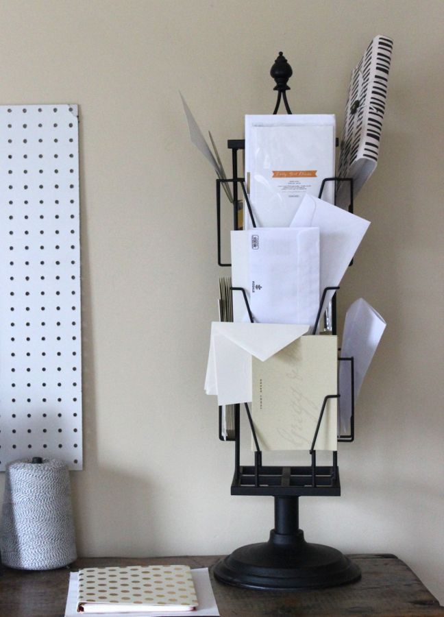 before-messy-envelopes-greeting-card-display-rack