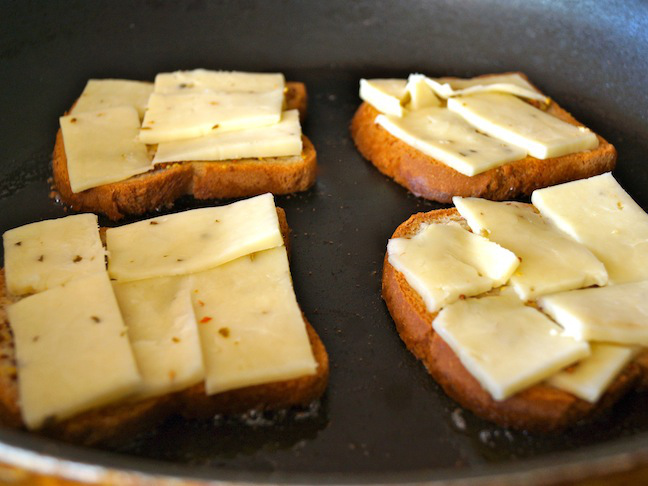 bread, toast, cheese