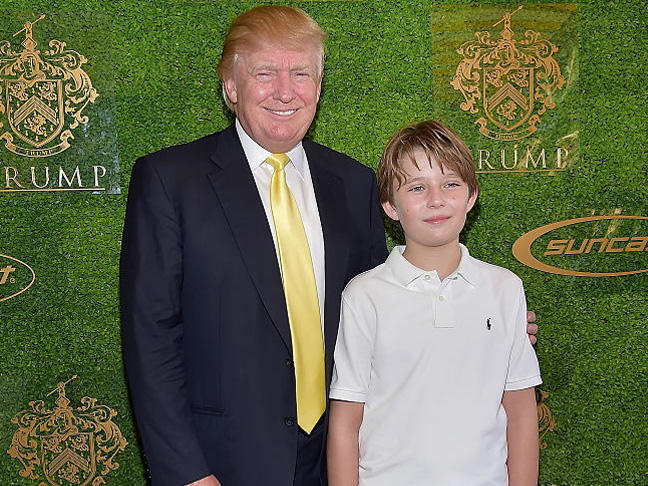 donald-and-barron-trump