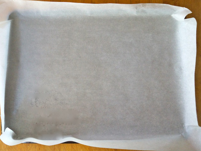parchment paper baking sheet