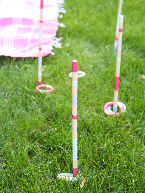 DIY Outdoor Ring Toss Game