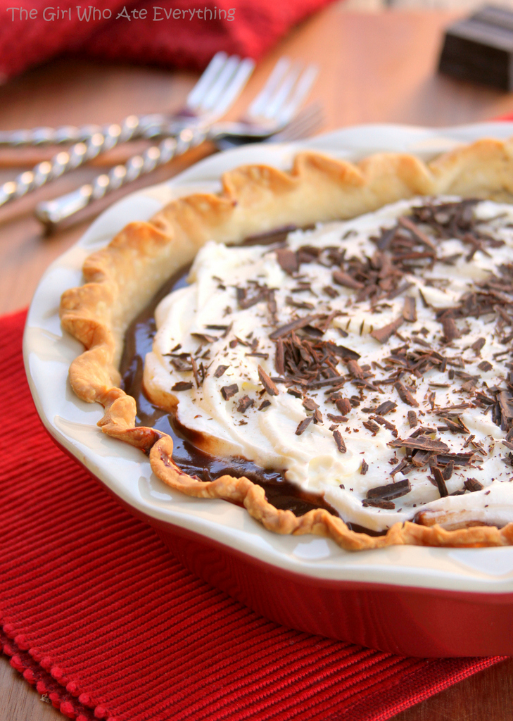chocolate cream pie