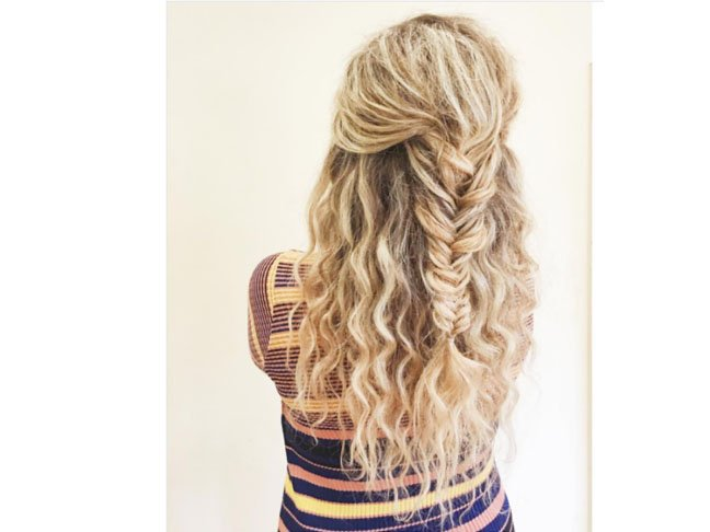 The Most Popular Quick & Easy Curly Hairstyles on Pinterest
