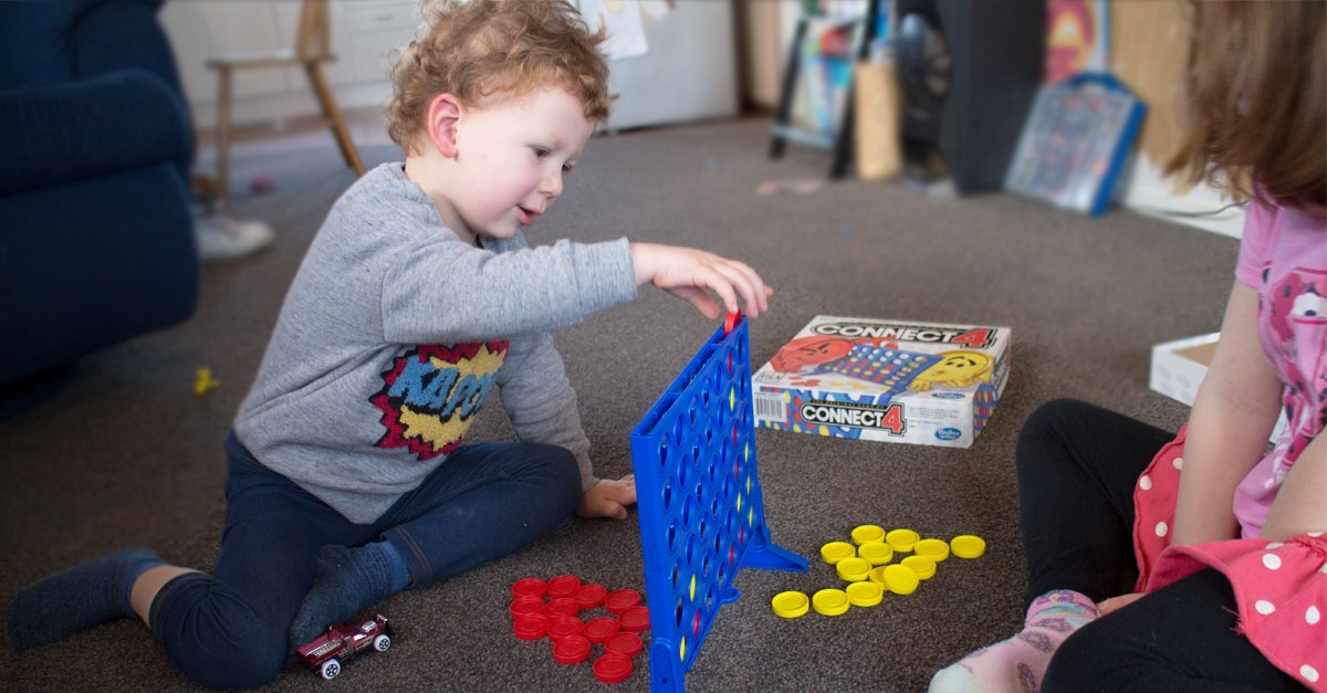 Kids and Board Games