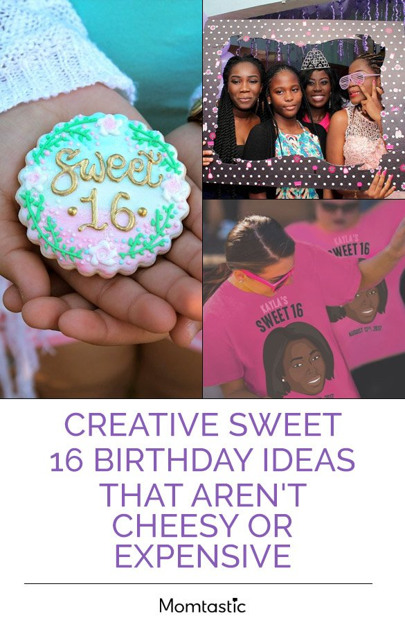 creative inexpensive sweet 16 birthday ideas