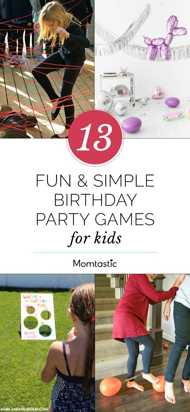 13 Fun & Simple Birthday Party Games For Kids